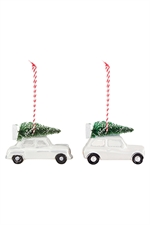 House Doctor Ornament Car- Fransenhome
