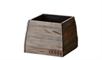 Lübech Living vase Woody Pot sort 16 x 16 x 13 cm - Fransenhome