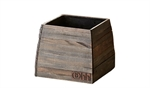 Lübech Living vase Woody Pot sort 21 x 21 x 17 cm - Frnsenhome