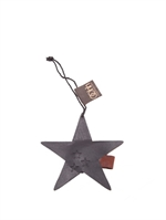 Lübech Living Star Ornament padded xmas sort - Fransenhome
