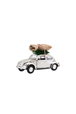 House Doctor XMAS CAR mini chrome 8,5 cm - Fransenhome